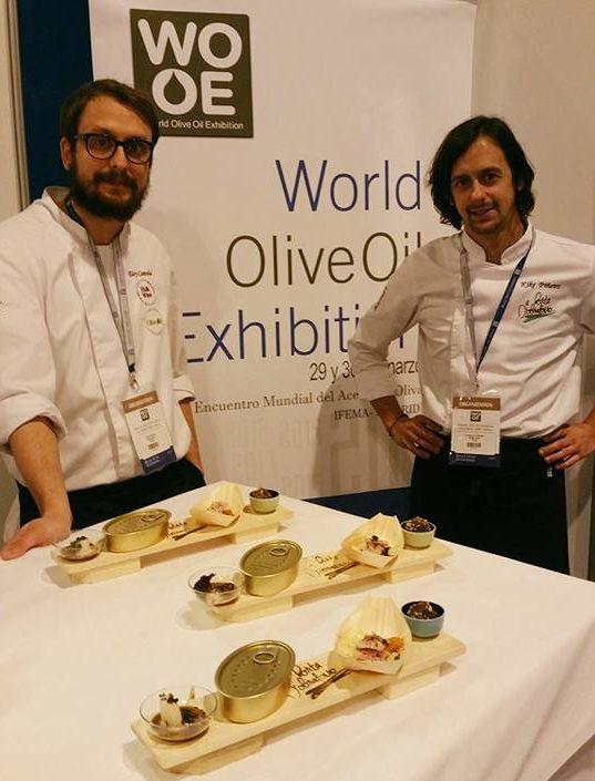Diversidade e orixe, a nosa aposta gastronómica na World Olive Oil Exhibition